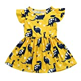 Best Food with Fashion Flower Girl Dresses - Hmeng Girls Dresses, Kids Baby Cute Cartoon Dinosaur Review