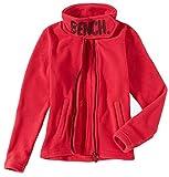 Bench BKGE001289 Funnel Fleece typischer Fleece Pulli mit hohem Kragen, bequem, warm und stylisch Rosa (Pink), EU 176