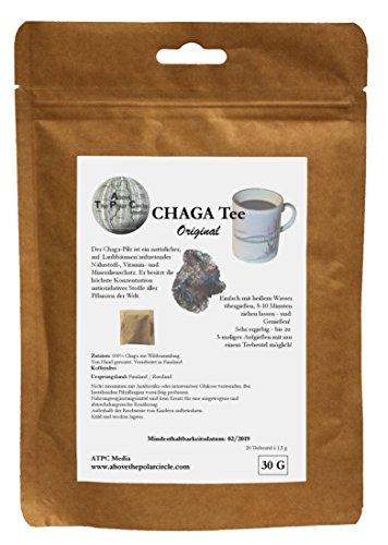 Diabetiker Tee (Chagapulver im Teebeutel Original)