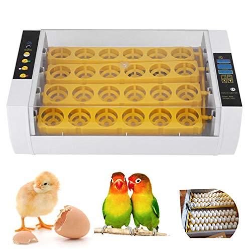 KYLINDRE Eibrutkasten, 24 Digitale transparente Hatcher, automatische Temperatur steuern Energieeinsparung 110/220V,für Huhn, Ente, Wachtel, Geflügel Hatcher, Eier befruchtet