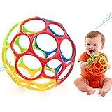Hilai Trou Creative Arc Balle drôle Catch Shaker Teether Classique Arc-en-Ball pour bébé bébé Enfant en Bas âge