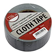 TIMCO CTSILVER Cloth Tape - Silber