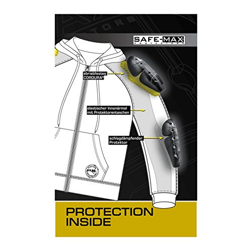 FLM FLM Sports Hoodie avec des protecteurs 1.0 Noir