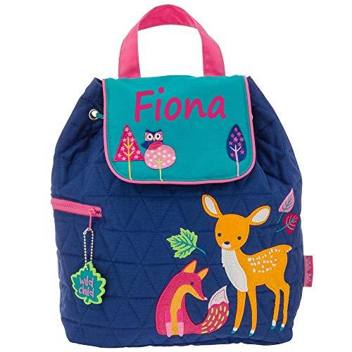 Elefantasie Rucksack Kindergartentasche mit Namen Bedruckt Motiv REH