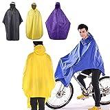 Waterproof Jacket Bike Bicycle Rain Gear Raincoat Cycling Poncho(Purple)