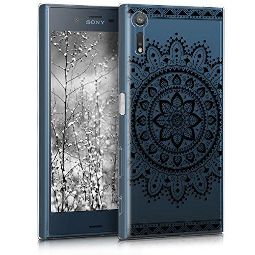 kwmobile Sony Xperia XZ/XZs Hülle - Handyhülle für Sony Xperia XZ/XZs - Handy Case in Schwarz Transparent