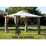 Papillon 8043317 Recambio Tela Pergola Sagres 3,4X3,4