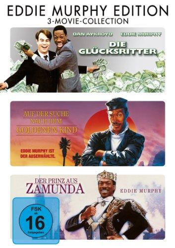 Die Glücksritter / Auf der Suche nach dem goldenen Kind / Der Prinz aus Zamunda [3 DVDs]