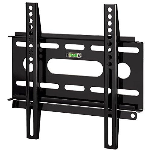 Hama TV-Wandhalterung (Ultraslim für 48 - 94 cm Diagonale (19 - 37 Zoll) für max. 25 kg, VESA bis 200 x 200) schwarz 19-zoll-lcd-flachbild-tv