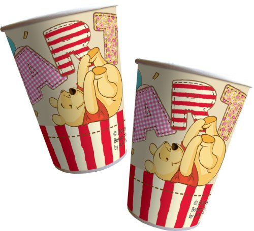 Amscan - Cubertería para fiestas Winnie the Pooh Disney (80498)