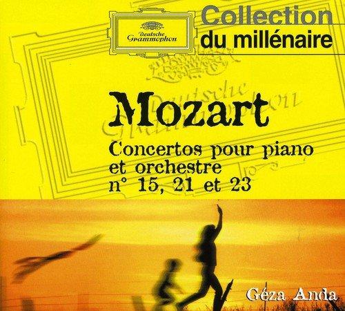 Mozart : Les Concertos pour piano n° 15, 21 et 23