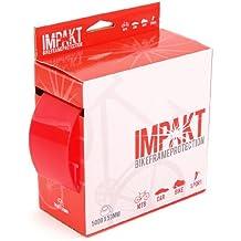 MSC Bikes Impakt.1.2Xmm50mmx5 - Protector de cuadros y vainas de ciclismo, color blanco / negro