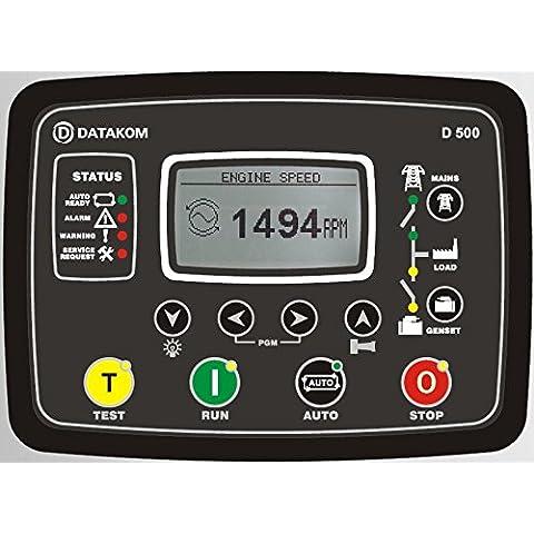 Generator Panel Datakom D-500 Automatic Avvia Control (AMF) con l'interfaccia Web