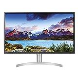 LG 32UL750-W 80,01 cm (31,5 inch) UHD 4K IPS Monitor (AMD Radeon FreeSync, HDR 10, DAS Mode), wit zilver