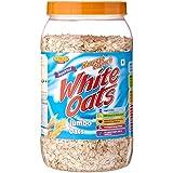 Express Foods White Oats Jumbo Jar, 800g