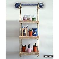 Vorhut 'Clifton Compact' - Suspended Scaffold Board Shelves (Vorhut 'Clifton Compact' - Estantes suspendidos para tablas de andamios)