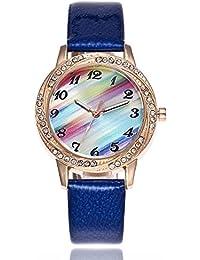 Coconano Relojes Mujer Baratos, Reloj de Pulsera Redondo de Cuarzo Analógico de Moda Para Mujer