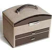 scatola di gioielli di moda in pelle/Scatola