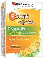 Propolis 500 mg | Complément Alimentaire à base de Propolis Verte et Miel d'Eucalyptus - Immunité | 20 amp
