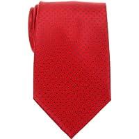 Retreez Modern Mini Pois Tessuto in microfibra da uomo cravatta–Vari colori