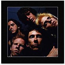 THE DEAD BOYS - Miami 1977 Matted Mini Poster - 18.1x18.1cm