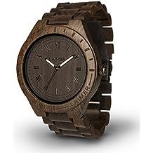 LAiMER orologio da polso in legno - BLACK EDITION |
