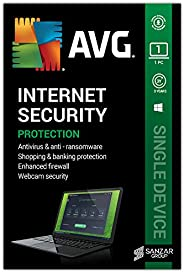 AVG Internet Security (1 User, 3 Years) (Email Delivery in 2 hours- No CD)