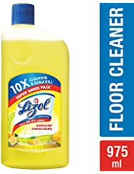 Lizol Disinfectant Surface Cleaner Citrus 975ml