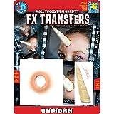 Tinsley Transfers Unicorn Makeup FX Transfers (2 Piece) by Tinsley Transfers