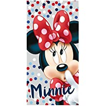 Toalla Minnie Disney dots algodon