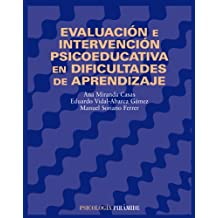 Evaluación e intervención psicoeducativa en dificultades de aprendizaje (Psicología)