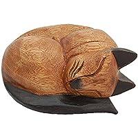 Cesta de madera para gatos