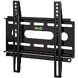 Hama TV-Wandhalterung (Ultraslim für 48 - 94 cm Diagonale (19 - 37 Zoll) für max. 25 kg, VESA bis 200 x 200) schwarz