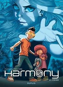 Harmony n° 2<br /> Indigo