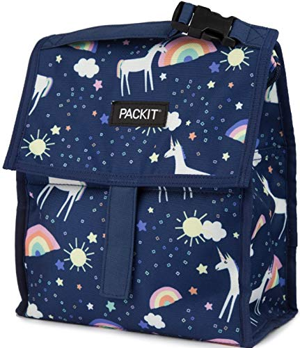 Packit gefrierergeeignet Lunchtasche Unicorn Sky Freezable Gel