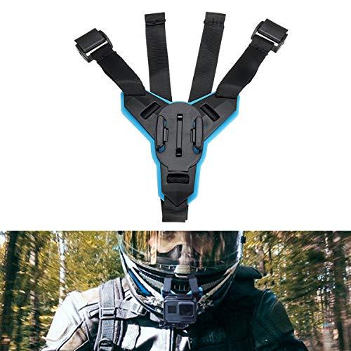 CHIMAKA Supporto fisso per casco integrale per casco moto per Hero 6/5/4 Action Camera Parti nuove part
