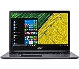 Acer SF315-51-53G2 Ultrabook 15,6' Gris (Intel Core i5, 4 Go de RAM, 256 Go, Windows 10 Home) Clavier AZERTY français