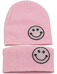 Amazon.fr   Hiloving - Packs bonnet, écharpe et gants   Accessoires ... 9086adcdf8d