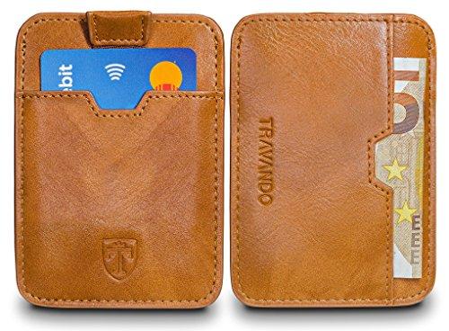 TRAVANDO–Tarjetera-con-SEGURIDAD-RFID-PROTECCIN-hasta-16-tarjetas-Crdito-Billetera-Fina-Pinza-para-Billetes-Cartera-Pequea-Estuche-para-Hombres