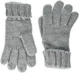 s.Oliver Damen Handschuhe 39.810.96.3113 Grau (Grey/Black Knit 94x1) One Size (Herstellergröße: 1)