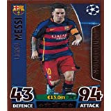 Match Attax Champions League - Lionel Messi Bronze Limited Edition Card (LE2) by Match Attax