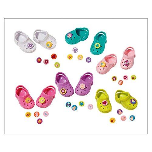 Zapf 819500 - BABY Born Shoes with funny pins, Babypuppen und Zubehör