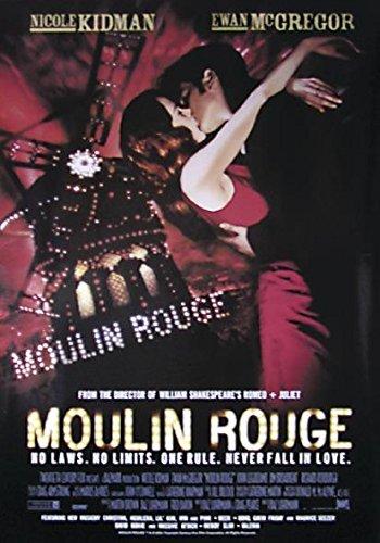 Close Up Moulin Rouge Poster (68cm x 98cm) + Geschenkverpackung. Verschenkfertig!