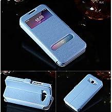 """Prevoa ® 丨 S - View Flip Funda Cover Caso Para Xiaomi Mi2 Mi2s M2 4.3"""" Smartphone - Azul"""