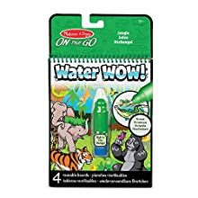Melissa & Doug Water Wow - Jungle Water Reveal Pad | Activity Pad | Travel | 3+ | Gift for Boy or Girl