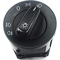 DoctorAuto LTD STD059707145 Interuptor De Faros Delanteros Con Conector De 17 Pines Cromo