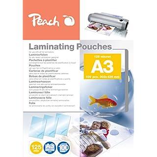 Peach PP525-01 Laminierfolien A3, 125 mic, 100 Stück