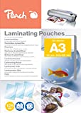 Peach Laminating Pouches A3, 125 mic, PP525-01, 100-pack