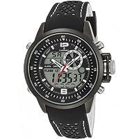 Reloj RADIANT NICKEL FREE RA400601 Hombre Silicona Negro Cronógrafo