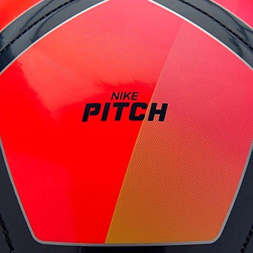 NIKE PITCH PREMIER LEAGUE FOOTBALL BALL 2017/2018 (Crimson/Volt) size 3